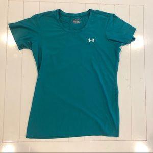Women's Under Armour tech gear fitted shirt
